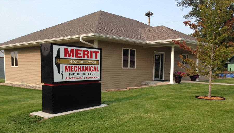 Merit Mechanical Building